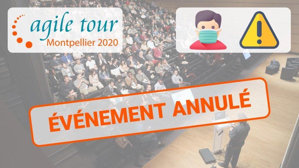 Agile Tour Montpellier 2020 annulé